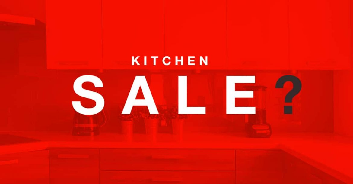 Kitchen sale ?