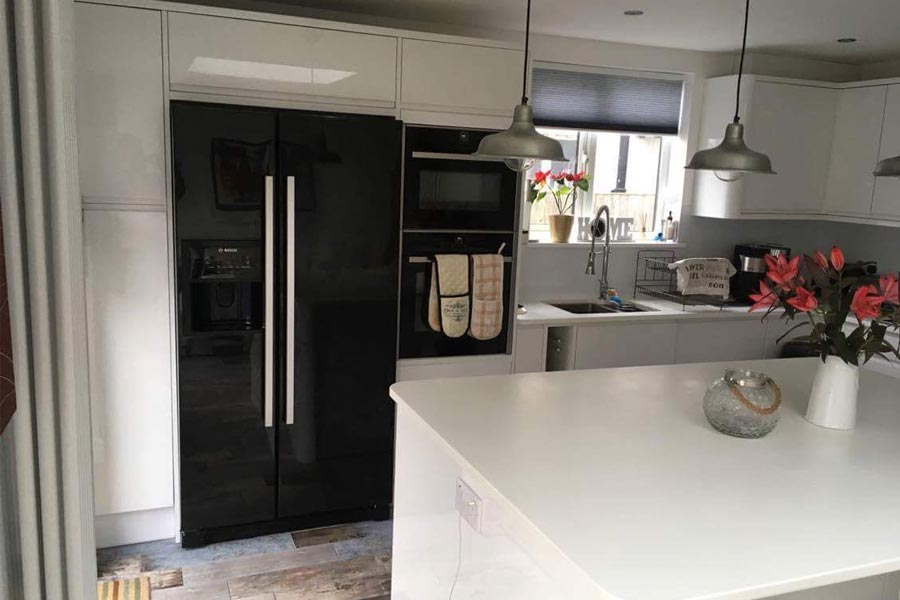 Carole s new kitchen with a  wow  factor   K2 Kitchens   Interiors 5154dda5d55